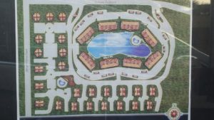 Uno Lago Site Plan in Juno Beach